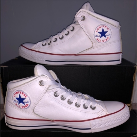 Converse All Star Street Leather High Top Sneakers